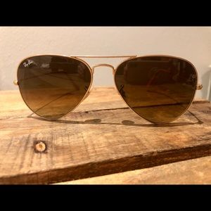 Brown Ray-Ban Aviators